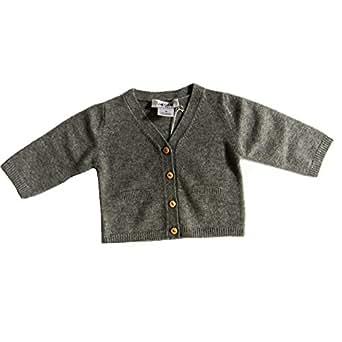 Les lutins gabin veste en cachemire gris - 3–6 mois