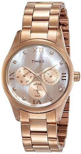 41M ZQrncNL - Timex TW000W208 Brown Women watch