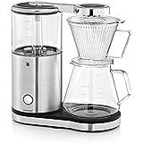 WMF AromaMaster Kaffeemaschine Glas (für 10 Tassen, 1470 Watt), metallic
