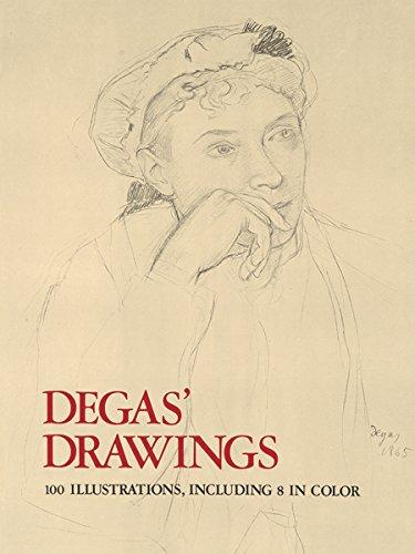 Degas' Drawings (Dover Fine Art, History of Art)
