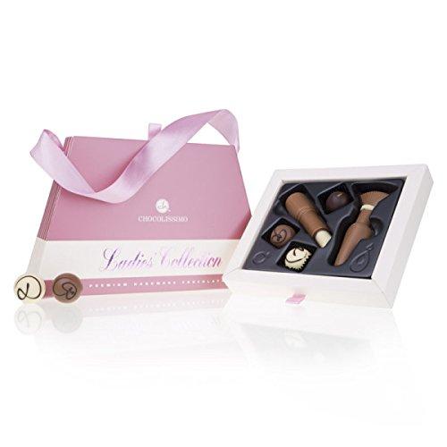 Chique Deluxe - Pralinen und Schmink-Set aus Schokolade