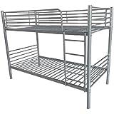 Litera metalica new, medidas 92 x 164 x 195 cm. , color gris metálico