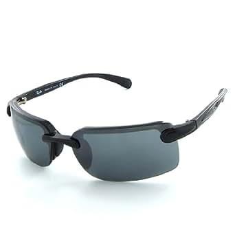 Ray Ban Sunglasses RB4044 Black(60): Amazon.co.uk: Clothing