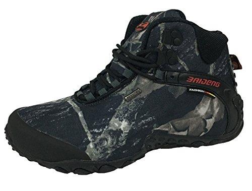 MatchLife Herren Camouflage Wanderschuhe Sports Schuhe Style1 Grau