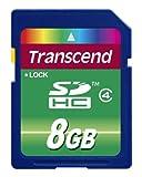 Acquista Transcend TS8GSDHC4E Scheda di Memoria SDHC da 8 GB, Classe 4