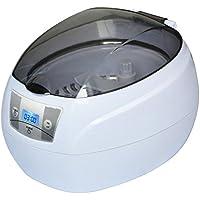 YQ Limpiador Ultrasónico 0.75L Tanque Cestas Joyería Relojes Inyector Anillo Dental 50W 42kHz Digital Mini
