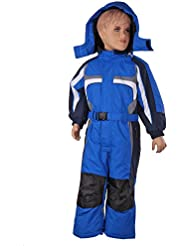 Invierno Schluss venta | peem Traje de esquí para niños lc131280–110, invierno, niño, color Azul - azul, tamaño 5 años (110 cm)