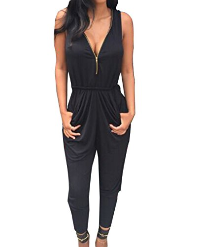 Damen Jumpsuit Mode Frauen Straps Ärmellos Normallacks One Piece Playsuits Sommer Strand Overall Shorts Spielanzug