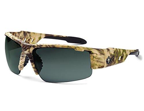 Ergodyne Skullerz Dagr Safety Sunglasses- Kryptek Highlander Frame, Smoke Lens by Skullerz