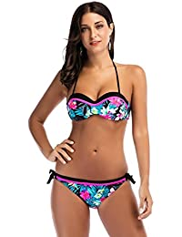 Bañadores Bikinis Bikini Push Up Deportivos Bañador Trajes De Baño Swimwear Traje De Baño Mujer Vestidos De Baño Ropa De Baño Bohemia Push-Up Padded Bra Bikini