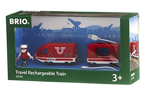 BRIO World - 33746 - TRAIN DE VOYAGEUR RECHARGEABLE