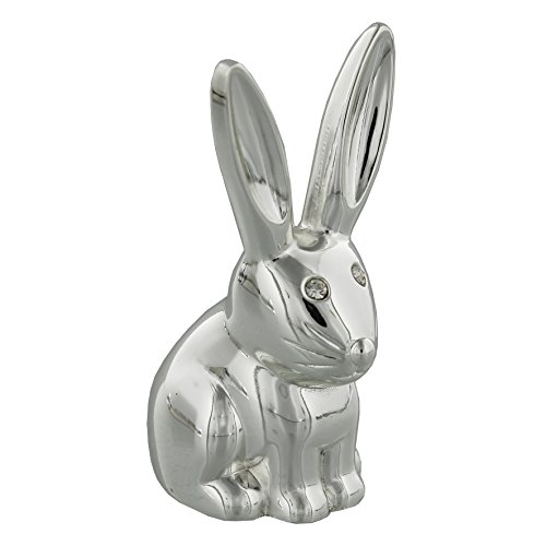 Sophia Silver-plated Rabbit Ring Holder