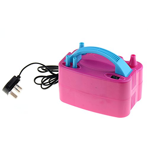 41M hCf02IL. SS500  - Asdoomo Portable Electric Party Balloon Pump Air Inflator Blower Double Noozle ,240V