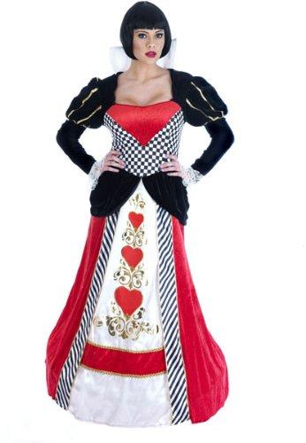 Königin von Herzen - Adult (Plus Kostüme Königin)