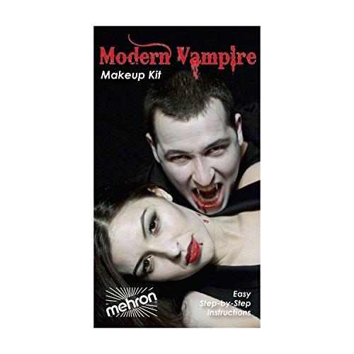 (6 Pack) mehron Premium Character Makeup Kit - Modern Vampire