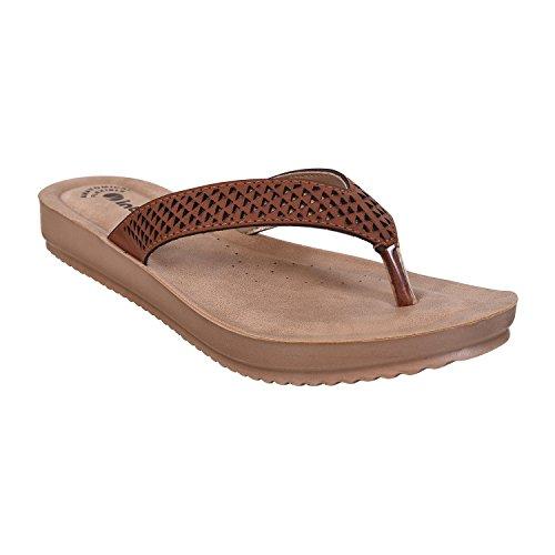 Inblu Tan Confort Slippers