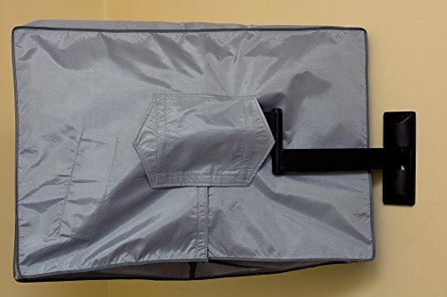28, 29, 32  Zoll Vizomax TV Abdeckung. Fernseher Abdeckung für Außen- und Innenanwendung. Staub und wasserfest TV schutz – für HDTV, LCD, LED und Plasma TV – Displayschutz - 4