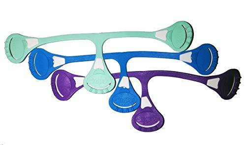 Snappi Windelverschlüsse-Original-Violett, Mint Grün und Blau-3PCs
