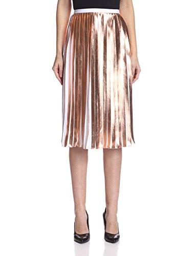 raoul Women's Foil Pleated Skirt