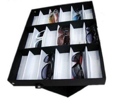 b8bb46aa4e Amzdeal Caja para gafas de sol, Organizador para gafas de sol, Caja de  exposición