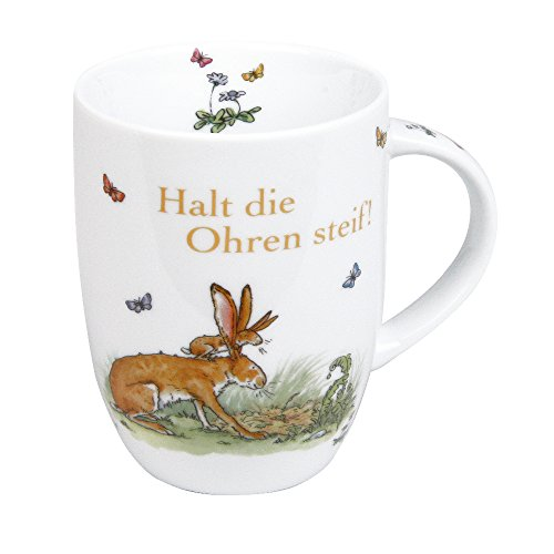 Könitz Kaffeebecher, Porzellan, Mehrfarbig, 12 x 8 x 10,3 cm
