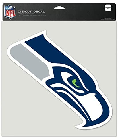 Seattle Seahawks Die-Cut Decal - 8ft x8ft Color