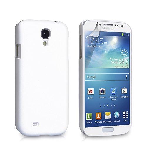 YouSave Samsung Galaxy S4 Hülle Harte Hybride Rückseite Tasche - Weiß