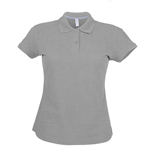 Kariban - Polo à manches courtes - Femme Blanc