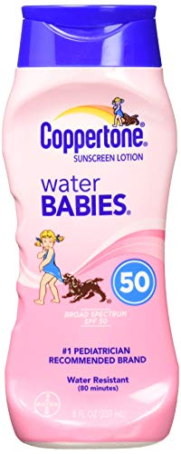 Coppertone Waterbabies Spf #50 Lotion 237 ml (Sunblocker) -