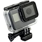 Tradico® Protective Protective Housing Case Side Open With Lens Cap For Gopro Hero 5