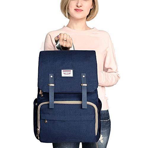 ZAGO Wickelrucksäcke Multifunktions wasserdichte Baby Windel Farbe Rucksack große Kapazität Windel Mummy Bag Geeignet for eine Vielzahl von Gelegenheiten Für die Reise- oder Outing-Babypflege