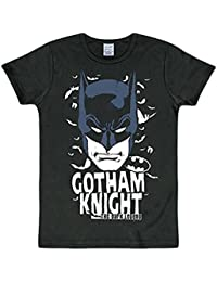 Logoshirt Rétro Batman Comic T-Shirt Gotham Knight Noir Taille M