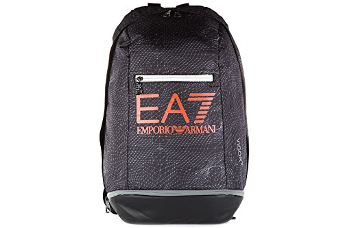 Emporio Armani EA7 zaino borsa uomo nylon originale vigor7 nero