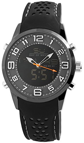 Raptor Herren Uhr Analog-Digital Silikon Armband RA20033-002