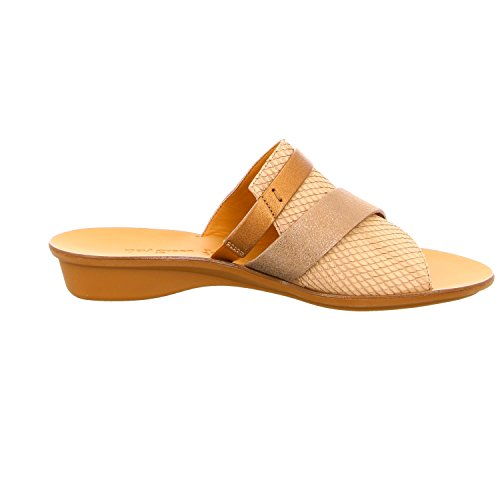 Paul Green 6337117, Mules Pour Femme Taupe