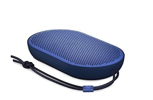 Bang & Olufsen Beoplay P2 Bluetooth-Lautsprecher (Tragbarer, mit integriertem Mikrofon) royal blau