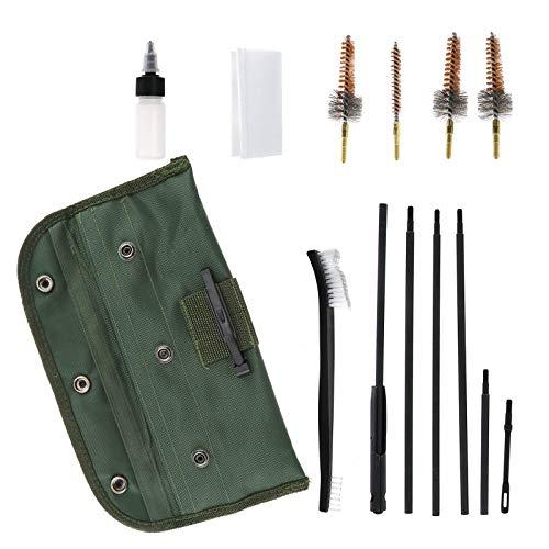ENET - Kit de Limpieza de Pistola de 13 Piezas 22 Cal...