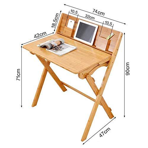 SED Kleiner Tisch für den multifunktionalen Tisch und Stuhl von Kid Kid Smooth Smooth Sanded Wood Finish. Hochwertiger einfacher Studiertisch mit Schlafzimmer,Schreibtisch + Stuhl -