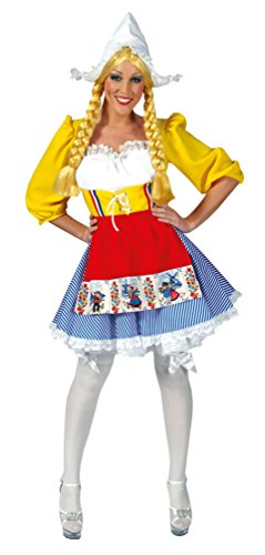 Kostüm Niederlande - Kostüm Holländerin Milchmädchen Karneval Holland Damenkostüm Größe 32/34