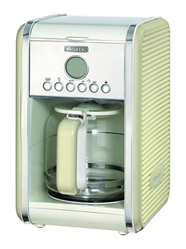 Preisvergleich Produktbild Ariete 1342CR 12-Tassen-Kaffeemaschine Vintage, 2000 W, creme