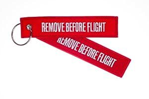 Llavero REMOVE BEFORE FLIGHT de alldoorsinflight.com
