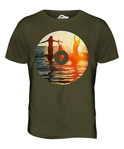 CandyMix Sommer Wellen Herren T Shirt Khaki Grün