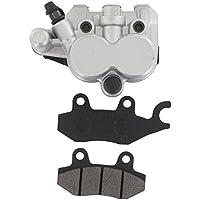 xfight-parts–Pinza Argento Freno Anteriore Sinistro () con doppio pistone widerlager senza supporto 2tempi 50ccm YY50QT–28