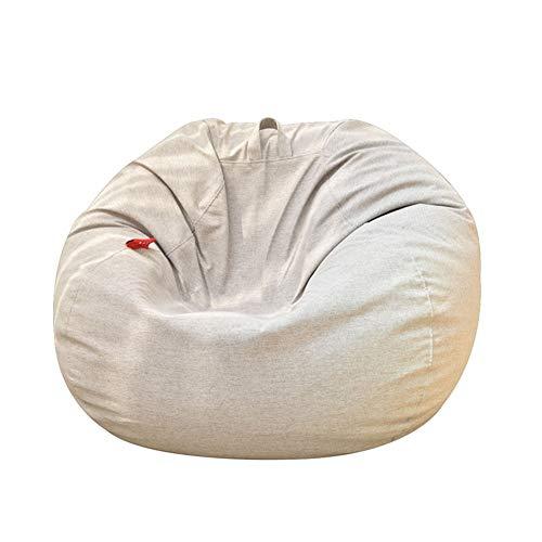 Yjsofa Sitzsack/Lazy Sofa Single Stuhl - Indoor/Outdoor für Garten Wohnzimmer (Farbe : Gray, größe : 90 * 110cm) - Wohnzimmer Stuhl Deckt