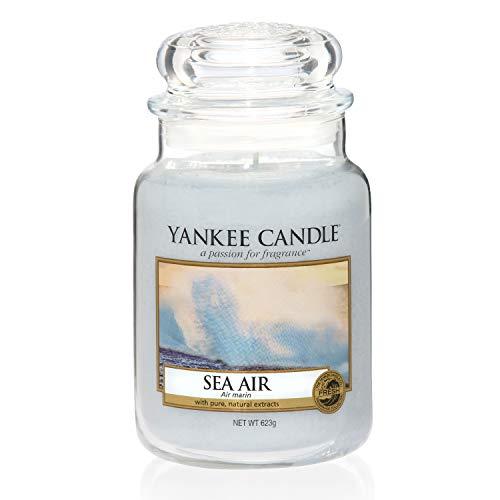 Yankee Candle große Duftkerze im Glas, Sea Air, Brenndauer bis zu 150Stunden