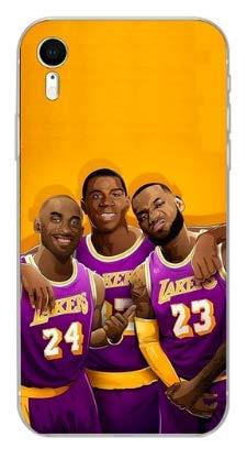 Art Design Hülle für iPhone 7 / iPhone 8 Lebron James 23 Lakers T-Shirt Basketball NBA Jeune Soft Silikon