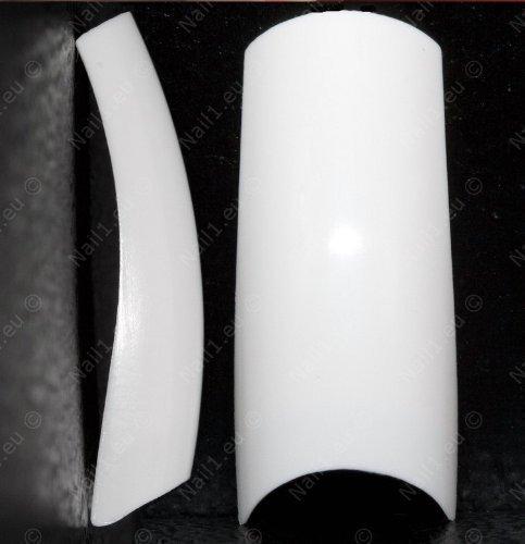 Tips French white 500 St. N 0-9 // Kunstnägel -