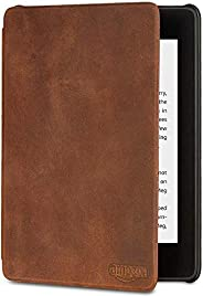 Amazon Kindle Paperwhite Premium Leather Cover, 10th Generation, 2018 Release - Rustic