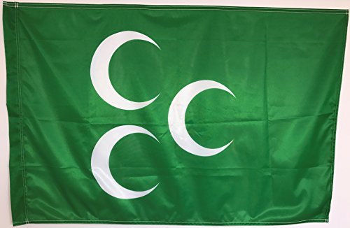 Osmanische Flagge - 3 Halbmonde - Üc Hilal 120x80cm