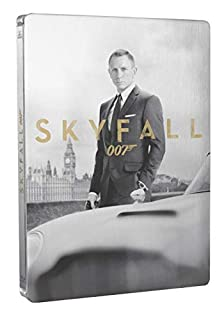 Skyfall métal 8 Postales [Édition Collector Limitée boîtier SteelBook-Combo Blu-Ray + DVD + Cartes] (B00AFWB2GO) | Amazon price tracker / tracking, Amazon price history charts, Amazon price watches, Amazon price drop alerts